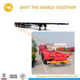 Heißer Verkaufs-China-Fabrik 20 Behälter-Flachbett-halb Schlussteil FT-40 FT 3axle für Verkauf