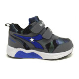 Diseño famoso de los zapatos del deporte de los cabritos de la marca de fábrica para el precio muy bueno del muchacho para el entrenamiento