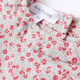 100%年の綿はTシャツの短い袖の女の子の衣服をからかう
