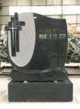 Monument de granit noir chinois et de la pierre tombale monument de pierre