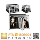Cage de chien de transport pliable en aluminium