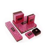 カスタムロゴのフルカラーの印刷紙の宝石類のギフトの包装ボックス