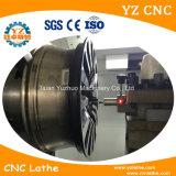 Syntec 관제사 수평한 작풍 합금 바퀴 CNC 선반 기계로 가공을%s 가진 Wrc22