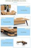 최신 세일즈 직원 책상 목제 디자인 테이블을%s 사무용 가구