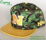 Изготовление шлема крышки Snapback печатание Camo