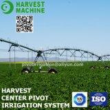 Sistema de irrigación de las tierras de labrantío de pivote de centro