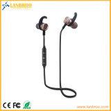 écouteurs stéréo Bluetooth d'adsorption de l'aimant de métal V4.1 puces de la RSE connecter deux mobiles