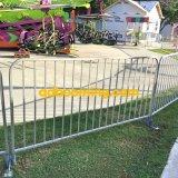 Загородка металла барьера управлением толпы