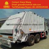carro de basura del envase de la compresión de 6*4 20 Cbm Sinotruk HOWO