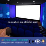 映画館部屋の装飾的で柔らかいファブリック防音の壁パネル