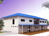 가벼운 Prefabricated 강철 구조물 노동자 집 (KXD-pH127)