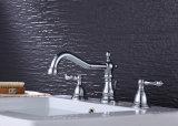 Taraud de mélangeur approuvé en laiton sans plomb de bassin de robinet de bassin de Cupc Bahtroom