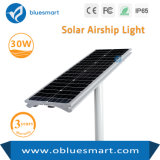 luz al aire libre ligera de energía solar del jardín LED de la calle 30W