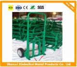 Kruiwagen van de Bagage van het Karretje van de Bagage van de fabriek de Directe In het groot Roestvrije met Superieure Kwaliteit