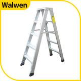 Dubbele Partij die de Ladder van de Stap van het Aluminium van het Huishouden vouwt