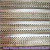 高い骨がある金属の網の具体的な型枠のパネル