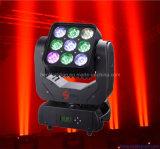 9 * 10W 4in1 LED Stage Moving Head Matrix Light (HL-001BM)