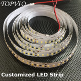 Un LED 10mm de longitud de la unidad de Cuttable 2835 tira de LED flexible