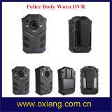 2 medidores de polícia cheia Shock-Proof DVR desgastado corpo da visão noturna IP67 HD1080p do IR
