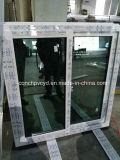 окно серии 60mm сползая с отражательным голубым и зеленым изолированным стеклом