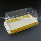 カスタム設計しなさいケーキまたはパン(明確なケーキの包装)のためのプラスチック荷箱を