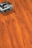 plancher en bois en stratifié en bois stratifié résistant de l'eau de chêne de perle de 12.3mm E1 HDF AC4