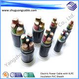 Fogo - cabo distribuidor de corrente à prova de fogo resistente da bainha do PVC da isolação de XLPE