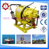 Ampliamente utilizado resistente de 5 toneladas de motor de gasolina Powered Cable cabrestante