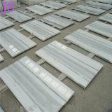 Cristal populaire du grain du bois Les plaques de marbre utilisé pour les matériaux de construction