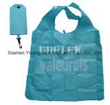 Vente en gros de gros sac à bandoulière en polyester à grande écolière Sac à bandoulière Cadeaux promotionnels imprimés personnalisés réutilisables en nylon sacs à dos pliants