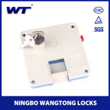Wangtong Euro Operated High Quality Shopping Cart Coin Lock