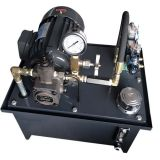 La piccola pressione idraulica si leva in piedi il pacchetto dell'unità di forza idraulica della centrale idroelettrica