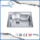 Nouveau design évier de cuisine en acier inoxydable (ACS5846)