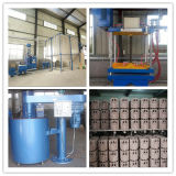 El proceso de la bomba de producir espuma perdida de la máquina de fundición Fundición