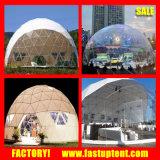 Événement géodésique de tente de dôme de mariage du revêtement en PVC Grand 10m 20m