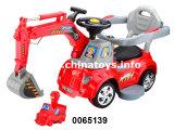 Brinquedo plástico do carro de bebê do carro de R/C B/O Constrution (0065139)