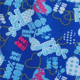 Gewebe-wasserdichtes glänzendes Gewebe des Polyester-600d*300d