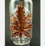 De nieuwe Waterpijp van het Glas van de Ambacht met de Vorm van het Blad van het Metaal