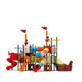 Parque Infantil exterior de plástico para crianças e crianças (JYG-15017)
