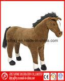赤ん坊の製品のための柔らかく熱い販売のプラシ天の馬のおもちゃ