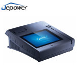 Todo en uno de 10 pulgadas POS terminal WiFi con NFC lector y la impresora de recibos