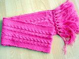 Os chapéus das crianças & os Scarves & as luvas feitos malha forma ajustaram-se para o inverno