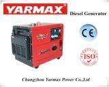 6 КВА бесшумный дизельный генератор с воздушным охлаждением