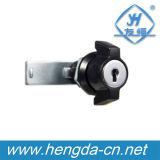Fechamento da came do gabinete do fechamento da came do botão da asa da liga do zinco Yh9798