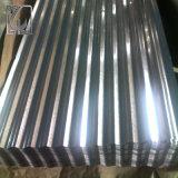 SGCC Z120 heißes eingetauchtes galvanisiertes gewölbtes Stahlblech