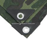 China vervaardigde de Waterdichte PE Druk van de Camouflage van het Geteerde zeildoek