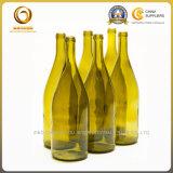 Салатовая бутылка красного вина 750ml на сбываниях (1263)