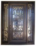 Singolo portello del bello del Vecchio Mondo ferro di obbligazione con il Sidelight