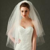 신부 결혼식 베일 복장 대중적인 3개의 층 Tuller Accreeories Ts0805