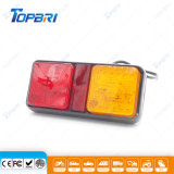 Lumière rectangulaire d'arrière de réflecteur de véhicule des accessoires automatiques DEL pour le camion